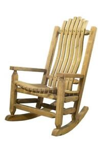 rocking chair rockers gas fire pit sets with chairs outdoor wooden porch farmhouse style amish image is loading