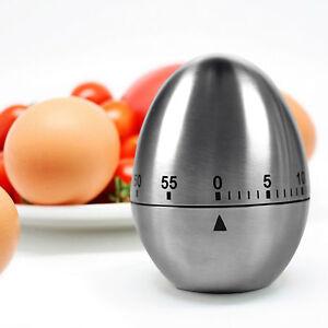 Zeitmesser Kche Kurzzeitmesser magnetisch Kchentimer Eifrmige lustige Eieruhr  eBay