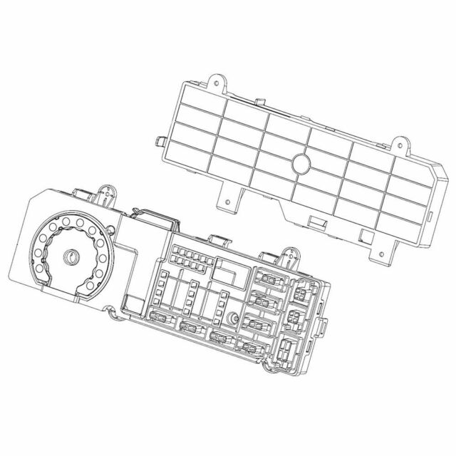 Samsung DC92-01623G Washer Electronic Control Board