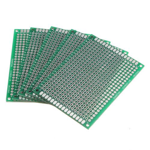 Supplies Accessories 5pcs 7x9cm Pcb Prototyping Printed Circuit