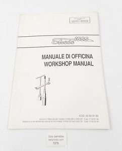 MOTO GUZZI STRADA 1000 WORKSHOP MANUAL REPAIR BOOK