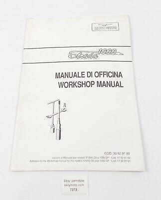 MOTO GUZZI STRADA 1000 WORKSHOP MANUAL REPAIR BOOK