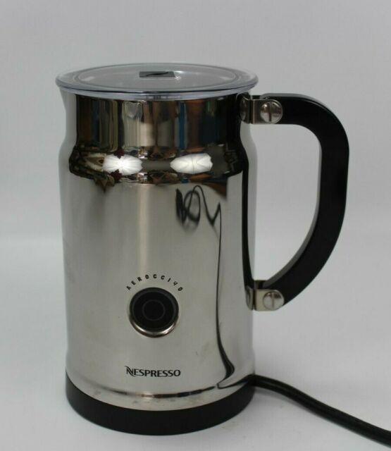 NESPRESSO Aeroccino Plus Milk Frother Automatic Electric ...