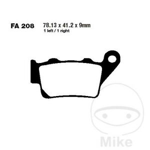 EBC R ATV & Dirt Rear Brake Pads FA208R Husqvarna TE 450
