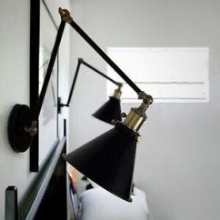 Kitchen Wall Lights Lowes Track Lighting Vintage Light Bar Led Black Lamp Bedroom Image Is Loading