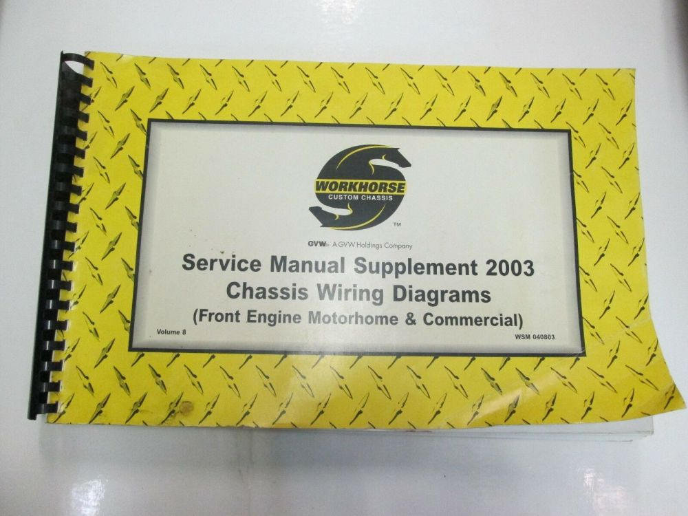 medium resolution of workhorse custom chassis service manual supplement chassis wiring diagrams vol 8