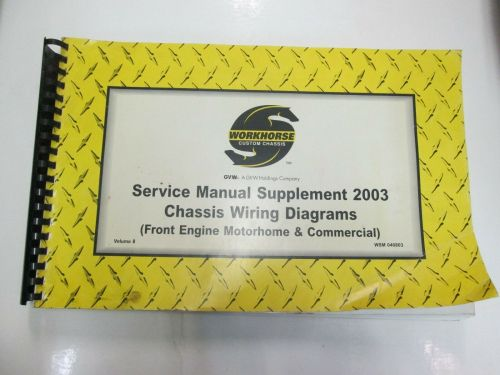small resolution of workhorse custom chassis service manual supplement chassis wiring diagrams vol 8