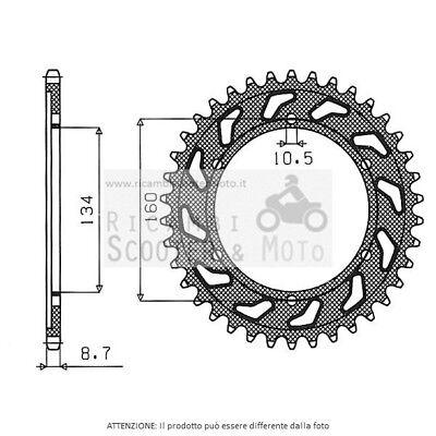 541061644 Gear Ring Se2 Ac P530-D44 Honda Cbr Rr Fireblade