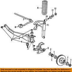 1996 Ford Ranger Front Suspension Diagram Backflow Device Oem 84 97 Radius Arm Bushing D9tz3b203a Image Is Loading