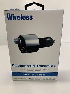 Just Wireless Bluetooth Fm Transmitter : wireless, bluetooth, transmitter, Wireless, Bluetooth, Transmitter, 3.4A/17W
