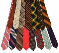 Vintage Mens Designer Neckties Skinny + Medium Classic ...