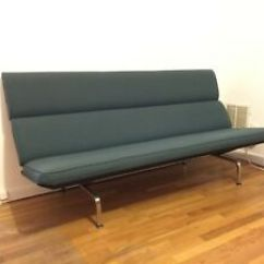 Eames Sofa Compact Big Lots Simmons Sectional Mid Century Modern Herman Miller Vintage Ebay Image Is Loading
