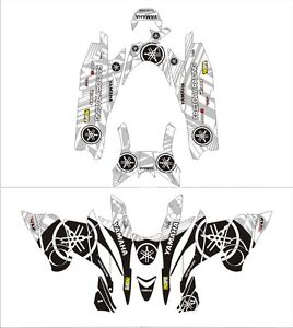 YAMAHA tunnel wrap graphics FX NYTRO RTX XTX MTX DECAL 121