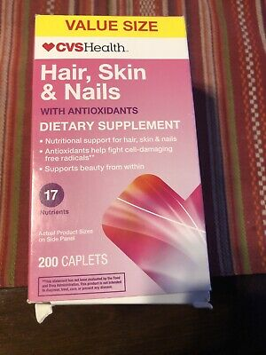 Cvs Hair Skin And Nails : nails, Hair,, Nails, Antioxidants, Caplets, 07/2020, 50428431023