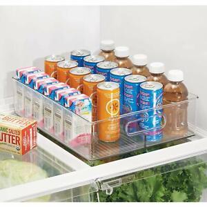 details about fridge storage organizer bin refrigerator freezer soda drinks beer veggies fresh