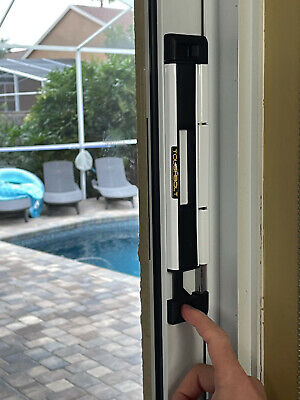 toughbolt sliding glass door lock child safety pool safety and security lock ebay