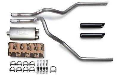 2009 2019 chevy silverado borla proxs mandrel dual truck exhaust kit black tips ebay