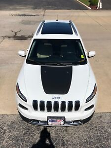 Jeep Grand Cherokee Hood Decals : grand, cherokee, decals, 2014-2018, CHEROKEE, VINYL, DECAL, STICKER, GRAPHIC, STRIPE