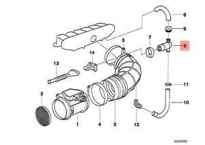 Genuine BMW E34 E36 E38 Fuel Injection Idle Air Control
