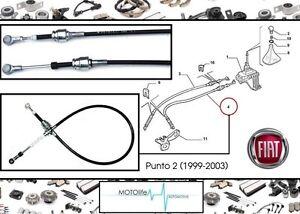 Schalthebel Fiat PUNTO 2 55194775 Seilzug Schalthebel
