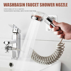 details about kitchen faucet filter hose extension shampoo shower head bathroom accessories
