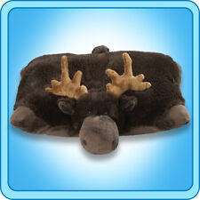 my pillow pets v0535r1 pet chocolate moose large brown