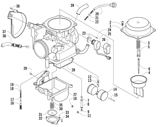 Carburetor for Arctic Cat Prowler 650 Prowler XT 650 & ATV