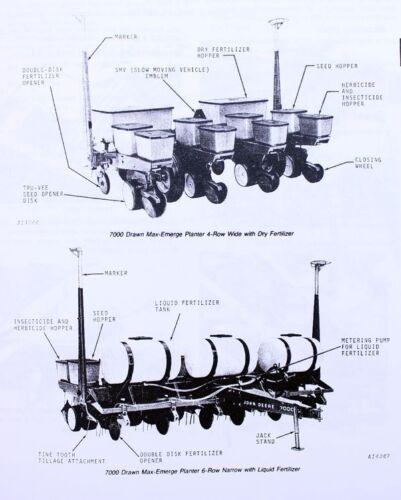 John Deere 7000 Planter Parts Diagram : deere, planter, parts, diagram, Heavy, Equipment, Manuals, Books, OPERATORS, PARTS, MANUAL, DEERE, DRAWN, MAX-EMERGE, PLANTER, CATALOG, Business, Industrial, Karmickproduction.com
