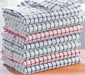 kitchen dish towels lighting above table 216 x wholesale job lot terry cotton tea cloths image is loading