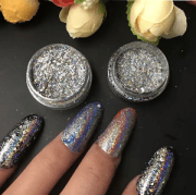 galaxy holo flakes nail sequins