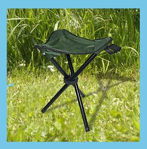green fishing chair spare legs folding camping three legged stool 4010126204073 image is loading