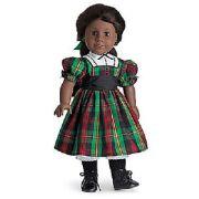 american girl addy christmas dress