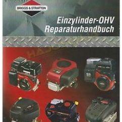 Briggs And Stratton Reparaturhandbuch 4 Flat Trailer Wiring Diagram Werkstatthandbuch Ohv B S Das Bild Wird Geladen Amp