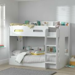Bunk Beds With Sofa Bed Underneath Argos Beige Chenille Fabric Westwood Sectional Couch Home White Ultimate Single Frame 5016319150492 Ebay Image Is Loading