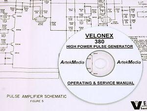 Velonex 380 High Power Pulse Generator. Operating, Service