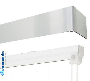 Scopri le tipologie e i sistemi di fissaggio a vetro, a parete, a soffitto. Binario Per Tenda A Pacchetto E Barra Di Copertura Alluminio Sistema Bastone Ebay