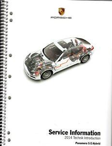 2014 Porsche Panamera S E-Hybrid service information