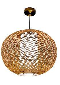 Abat Jour Ikea Bambou : bambou, Suspendu, Lumière, Pendentif, Grand, Abat-jour, Bambou, Rotin, Osier