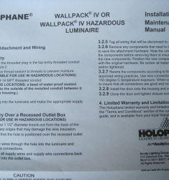 holophane wallpack iv 70 watt 120v w4070hp12skb black wall light lamp outdoor for sale online ebay [ 1600 x 1200 Pixel ]