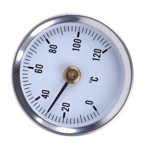 Clip-on Termometro Temperatura Gauge 63mm 0/120C TERMICA PAS PTSP | eBay