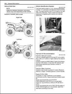 2009-2012 Suzuki LT-A500XP KingQuad ( 500 AXi ) ATV