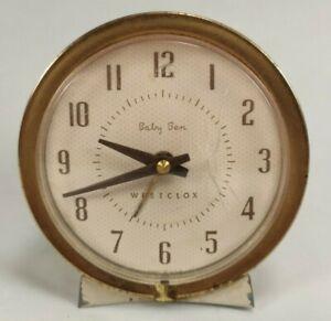 Vintage Westclox Baby Ben Style 7 Alarm