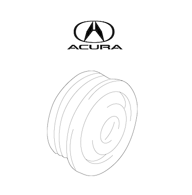 For Acura NSX 91-05 Drive Belt Tension Idler Pulley