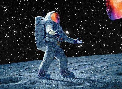 a3 rapper art poster kid cudi man on the moon print ebay
