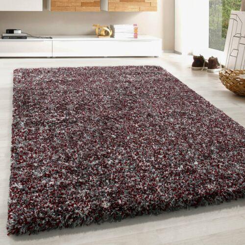 d un epais shaggy tapis salon riches simili gris gris clair rouge creme chine