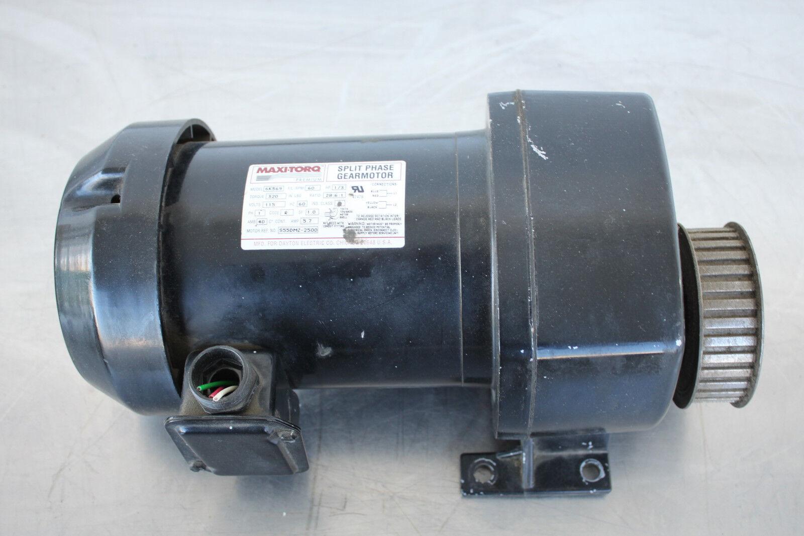 Dayton Split Phase Gear Motor