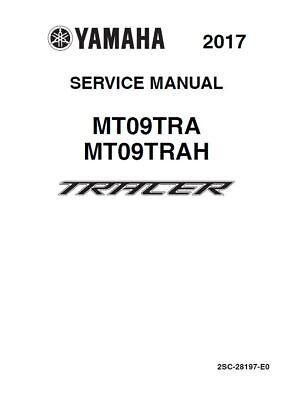 Yamaha Tracer 900 MT09 Service Repair Maintenance Workshop