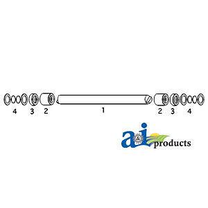 John Deere Parts LOAD CONTROL SHAFT R33826 4020 (SN