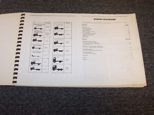 1988 GMC Topkick C5500 C6500 C7500 C8500 Truck Electrical Wiring Diagram Manual | eBay