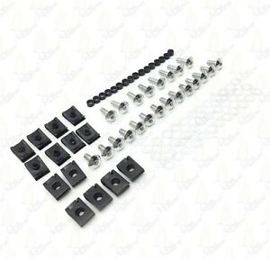 Motorcycle Fairing Bolts Kit Fastener Clips Screw For